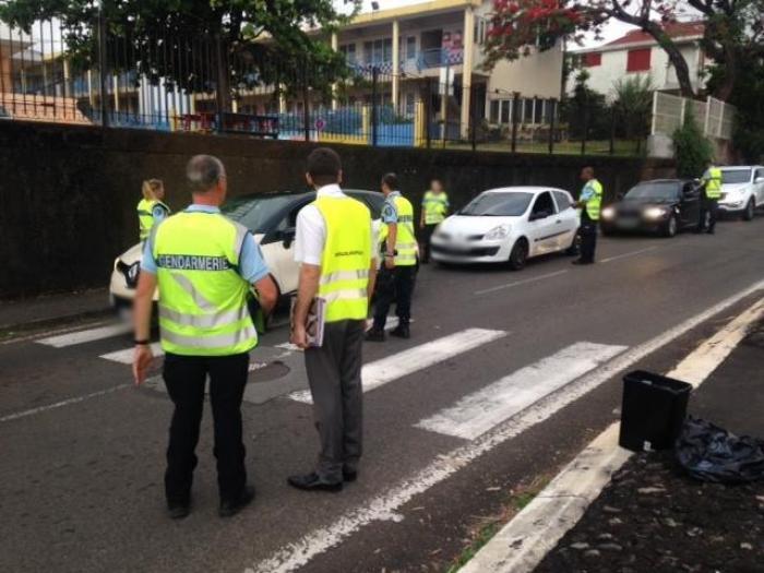 16 rétentions immédiates du permis de conduire et 50 immobilisations