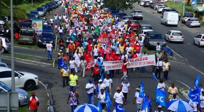 1er mai : un défilé aux Abymes