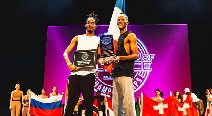 2 jeunes danseurs guadeloupéens sur le podium de la plus grande compétition de danse urbaine du monde !