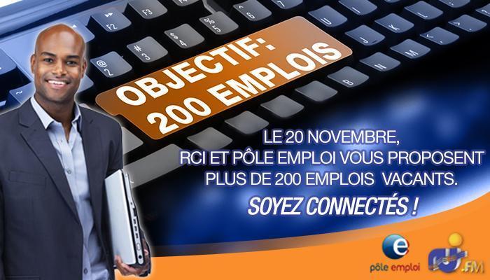 200 offres d'emploi avec RCI...Un mois après