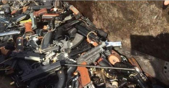 218 armes à feu et 6 936 cartouches retirées de la circulation