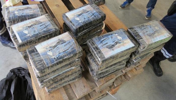 33,5 kg de cocaïne interceptés par les douaniers du Havre