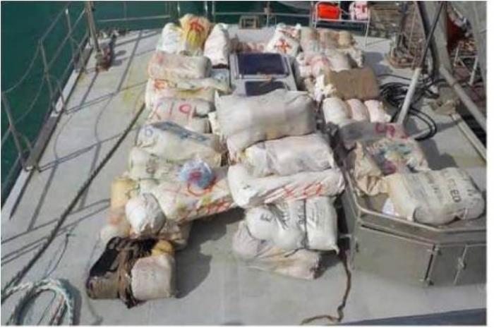 500 kilos de drogue saisis à Sainte-Rose