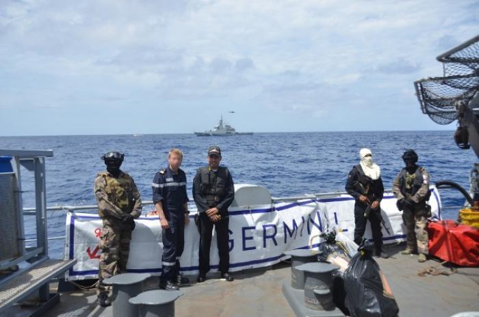55 kilos de cocaïne et 65 kilos de cannabis saisis au large de la Martinique