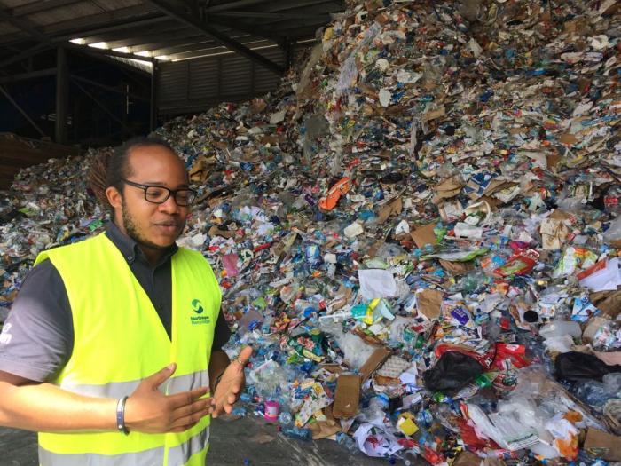 6000 tonnes de déchets compactés chaque jour en Martinique