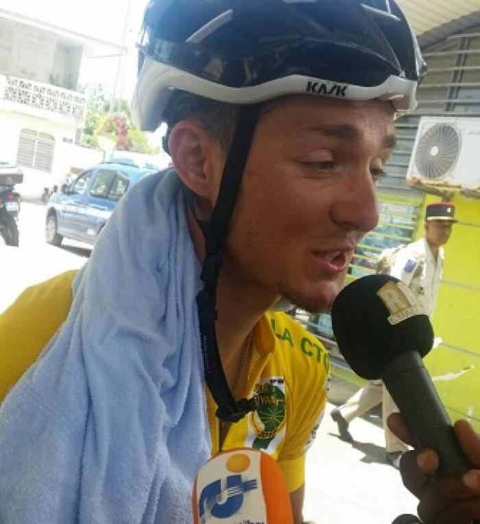 6ème étape du tour cycliste de Guyane : Mickaël Laurent conserve sa 2ème place au général