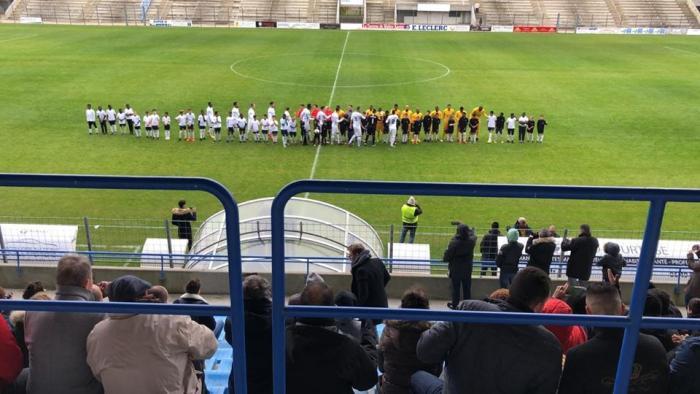 7e tour de Coupe de France : victoire de l'Aiglon du Lamentin face au Stade Poitevin FC aux tirs au but