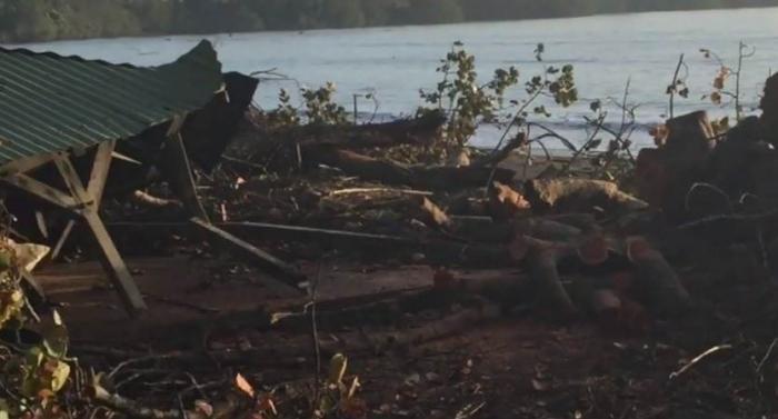 80 % du littoral endommagé par les effets de l'ouragan Maria