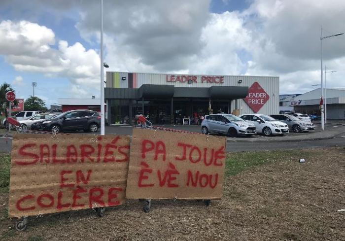 8ème jour de grève au Leader Price de Grand-Camp