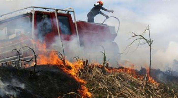 9 hectares de terres brûlées sur deux importants incendies