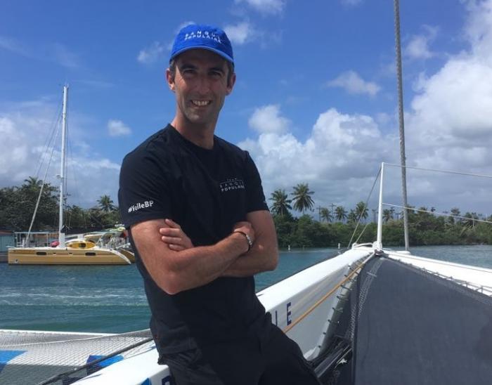 A bord de Banque Populaire IX, l'un des favoris de la Route du Rhum Destination Guadeloupe