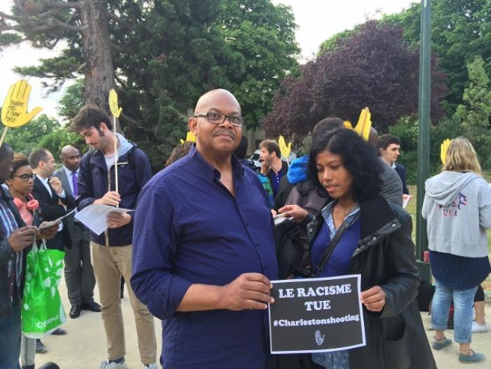 A Paris, les Antillais solidaires avec les populations noires de Charleston