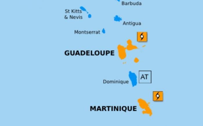 A quoi s'attendre en Guadeloupe avec le passage de KIRK ?