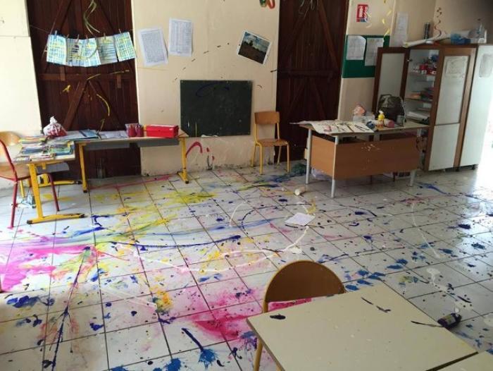 Abymes : l'école de Besson à nouveau vandalisée