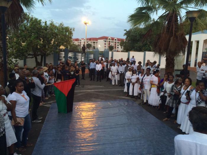 #AC10ans : hommage au petit matin à Aimé Césaire