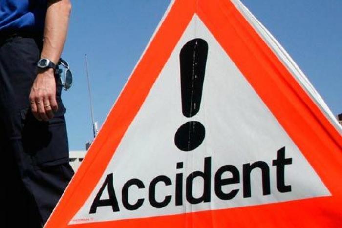 Accident au niveau de Changy à Capesterre-Belle-Eau