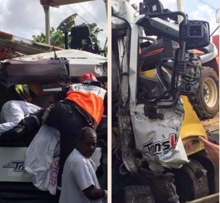 Accident de la route à Mangot Vulcin