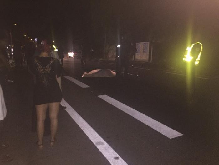 Accident mortel mardi soir sur la route du Gosier