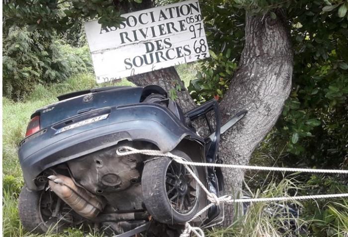 Accident mortel à Marie-Galante
