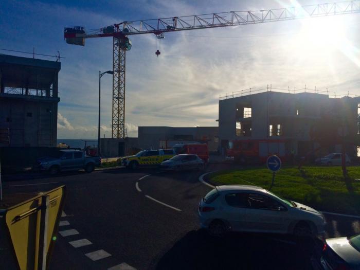 Accident mortel sur un chantier à Schoelcher