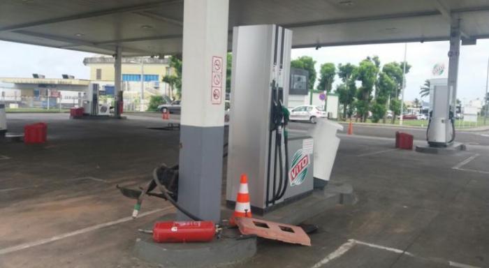 Accident station Vito : le conducteur passera sa première nuit au centre pénitentiaire de Ducos
