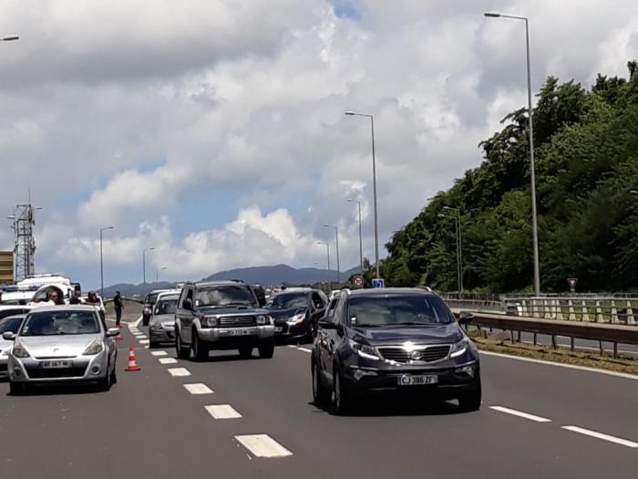 Accrochage sur l'autoroute : quelques ralentissements pour descendre vers le sud