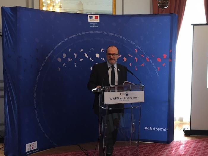 AFD : 1,4 milliard d'euros pour les Outre-mer en 2018