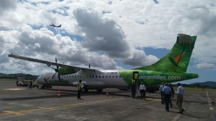 Air Antilles : Inauguration de la liaison Fort-de-France Barbade