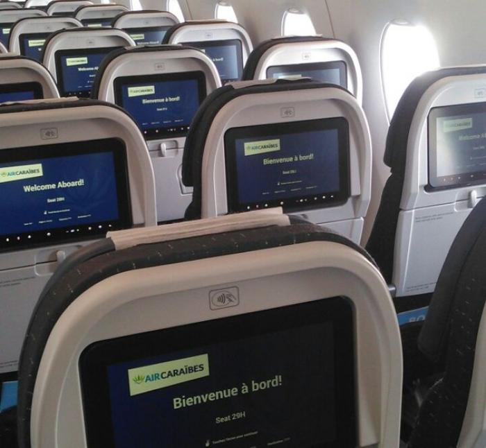Air Caraïbes a effectué un vol inaugural au dessus de la Martinique avec son A350-900