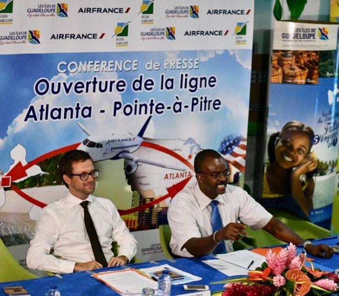 Air France lance une nouvelle liaison Pointe à Pitre Atlanta