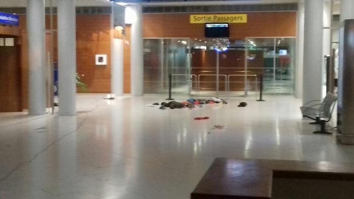 Alerte au colis suspect à l'aéroport Aimé Césaire