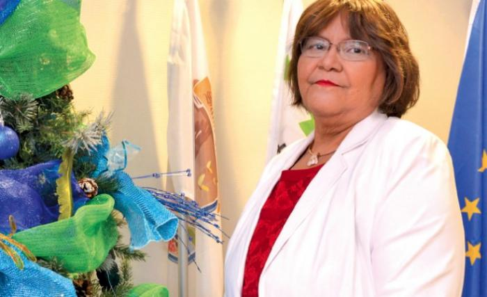 Aline Hanson, ancienne présidente de la collectivité de Saint-Martin est décédée