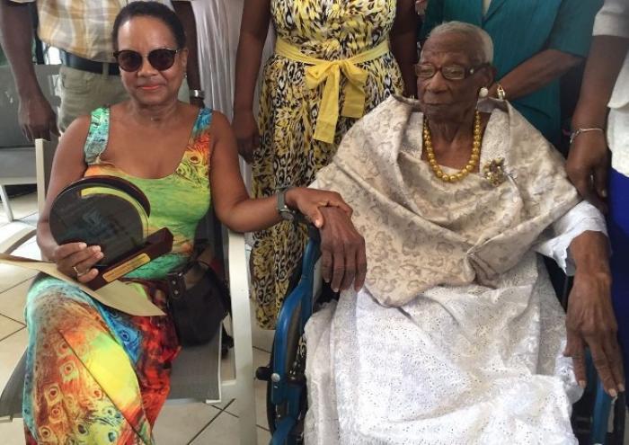 Amoureuse de la vie, Marthe Pauloby a fêté ses 107 ans