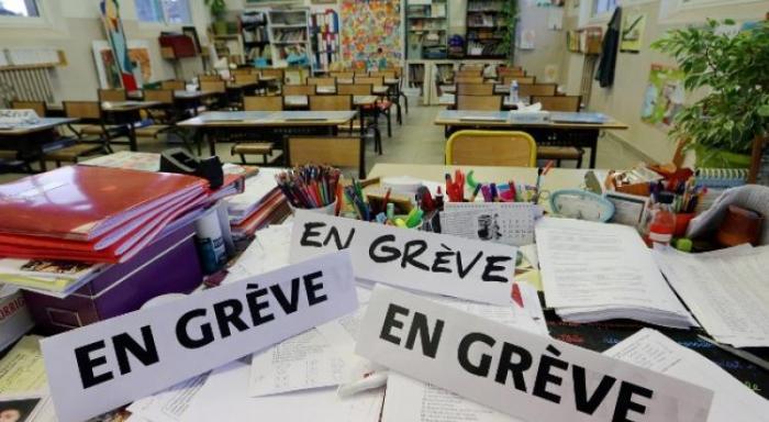 Appel à la grève dans l'éducation nationale lundi 12 novembre 2018