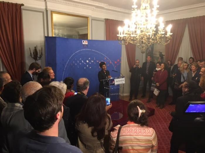 Assemblée nationale: l'ex ministre des Outre-mer Ericka Bareigts candidate à la présidence