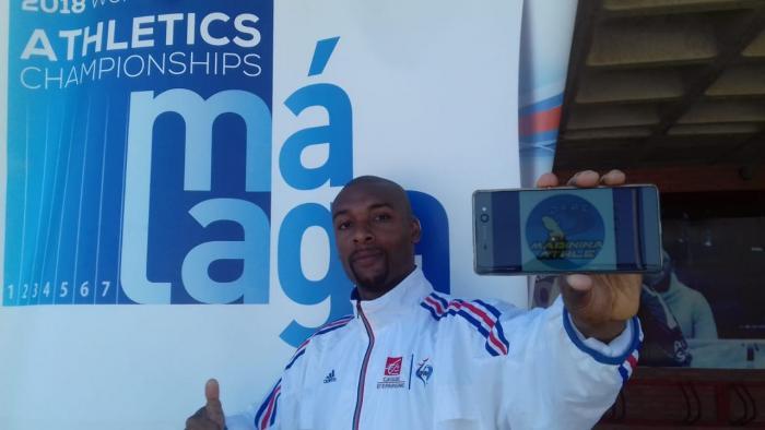Athlétisme : Yannick Saint Louis aux Championnats du Monde à Malaga