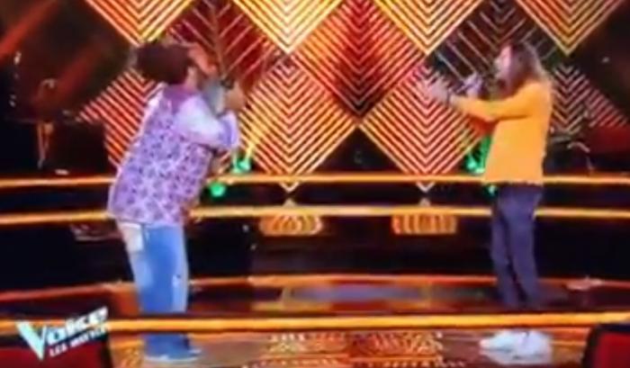 ATTENTION SPOILER : Fanswa Ladrezeau en duel dans the Voice