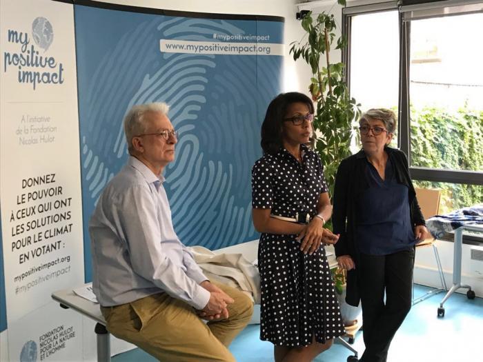Audrey Pulvar, nouvelle égérie de la Fondation Nicolas Hulot
