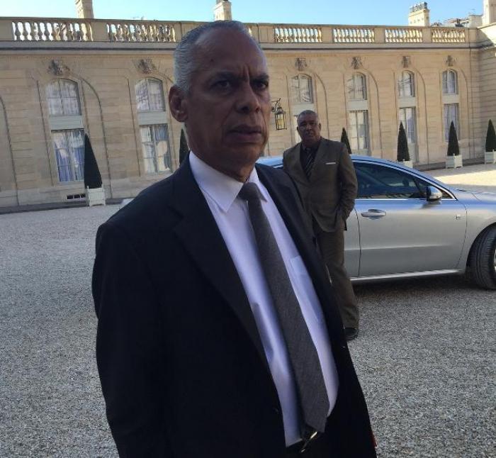 Avant sa tournée caribéenne, le Chef de l'Etat a reçu les deux présidents des régions Martinique et  Guadeloupe
