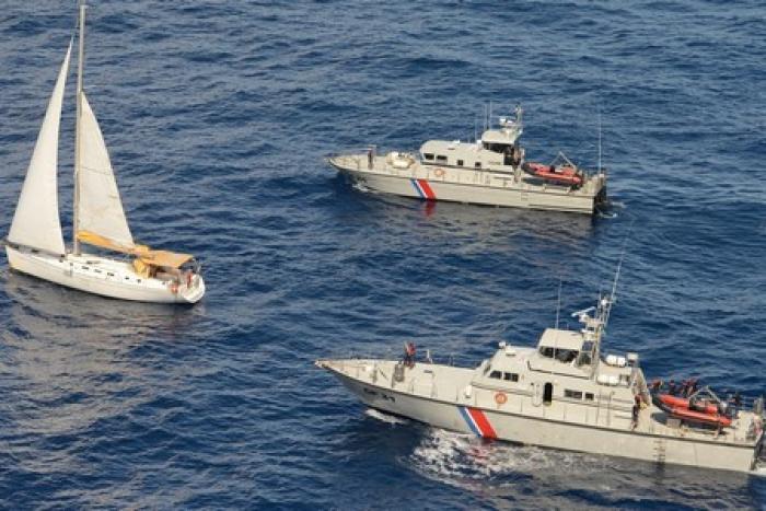 Avarie sur un bateau au large de Marie-Galante : huit personnes secourues.
