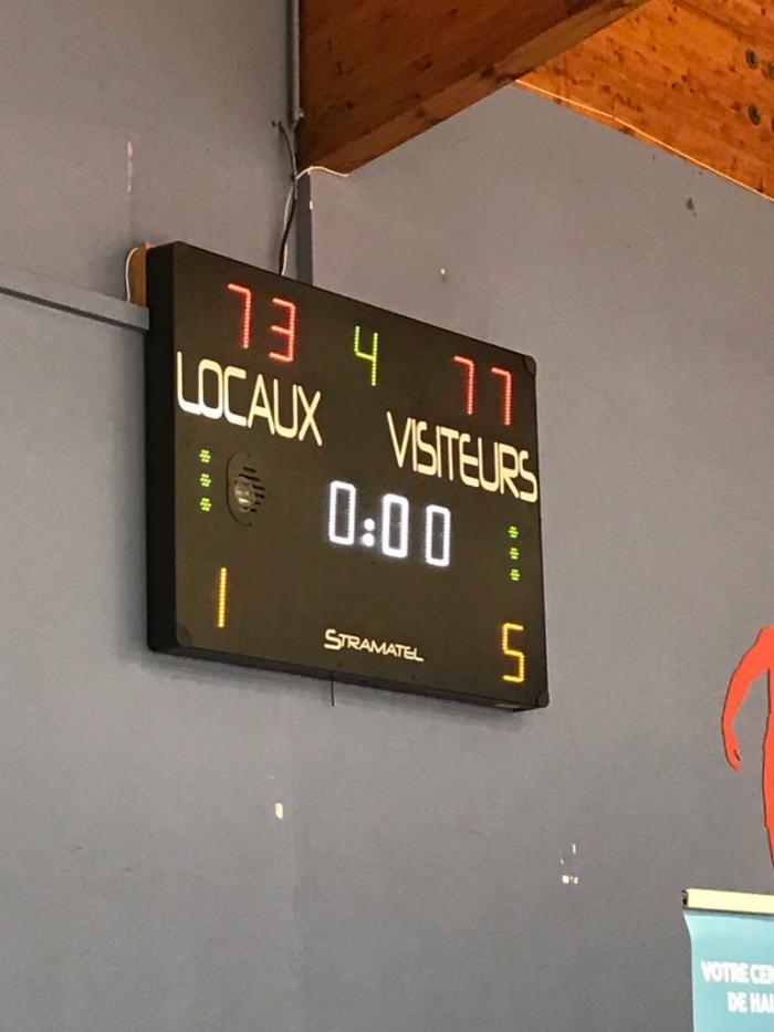 Basket : défaite de la Gauloise et victoire du Golden Lion