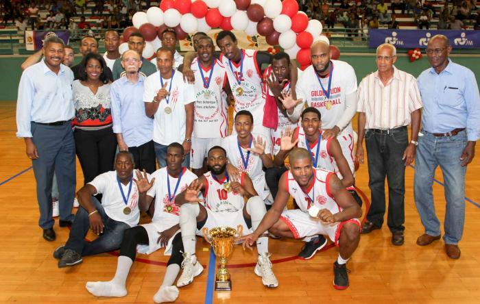 Basket : la Gauloise et le Golden Lion, champions de Martinique.