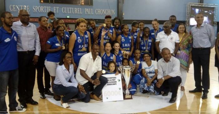 Basket : les filles du BMBC championnes