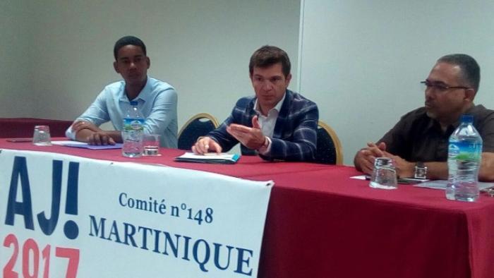 Benoist Apparu le porte-parole d'Alain Juppé était de passage en Martinique