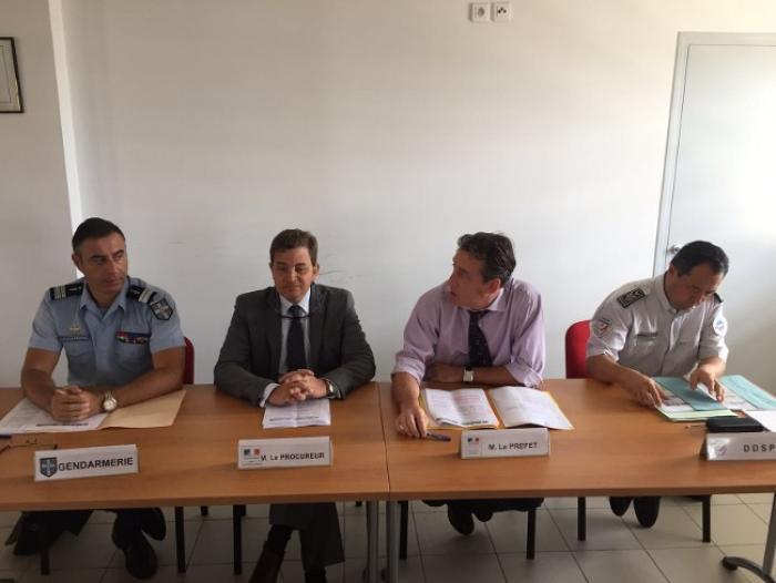Bilan de la sécurité 2015 en Martinique