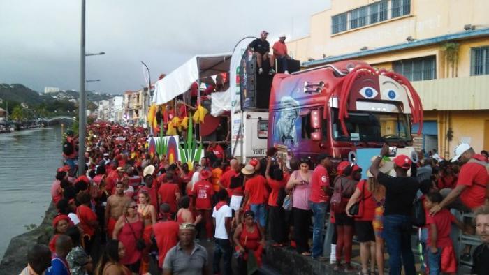 Bilan positif pour le carnaval de Fort de France