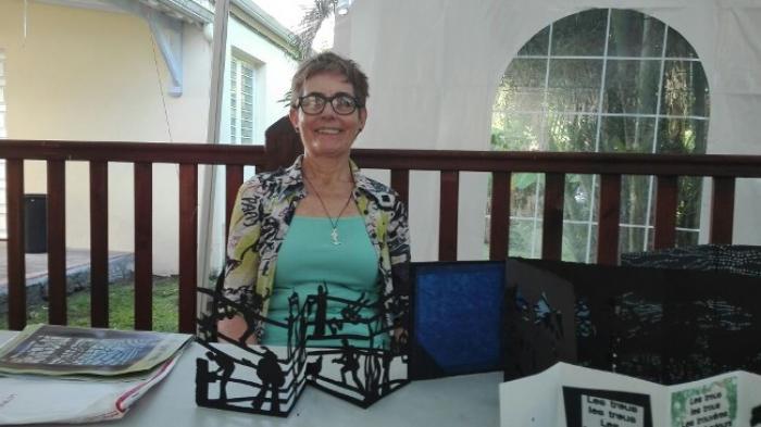 Béatrice Coron spécialiste de la découpe expose une partie de ses œuvres