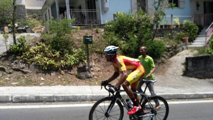Boris Carène a remporté ce 65e Tour de la Guadeloupe