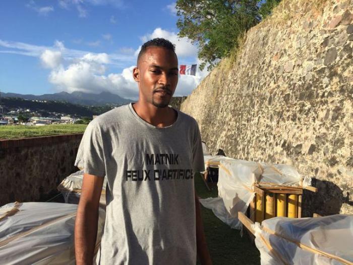 Boucans de la Baie:  Rencontre avec Steeven Nicole, premier artificier martiniquais