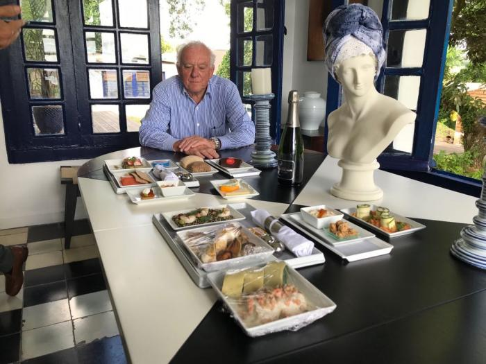 Business class et menu grand chef chez Corsair
